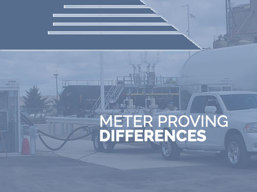 METER PROVING1 - Meter Proving & Testing - Whats the Diff?